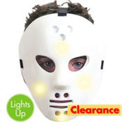 Light-Up Hockey Mask