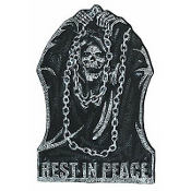 Reaper Tombstone Decoration 22in