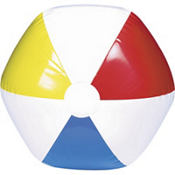 Multi Color Beach Ball 13in