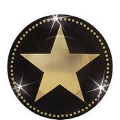 Star Attraction Metallic Dessert Plates 8ct