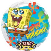 Foil SpongeBob Singing Balloon 28in