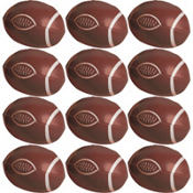 Soft Football Favors Value Pack 12ct