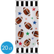 Large Football Party Bags 20ct