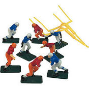 Football Cake Toppers 10ct