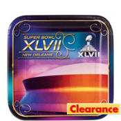 Super Bowl Dessert Plates 16ct