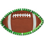 Large Oval Football Platter 18in