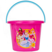 Plastic Disney Princess Easter Bucket 7 1/2in