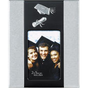 Grad Cap and Diploma Graduation Frame 2in x 3in