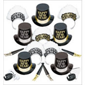 Elegance New Years Party Kit for 10