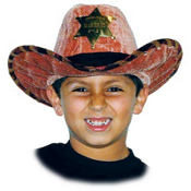 Child Sheriff Cowboy Hat