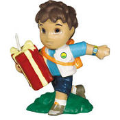 Go, Diego, Go! Birthday Cake Candle 3 1/4in