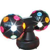 Deluxe Rainbow Disco Light 15in