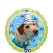 Foil Party Pups Birthday Balloon 18in