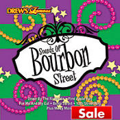 Sounds of Bourbon Street Party Music CD