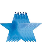 Large Royal Blue Star Cutouts 5ct