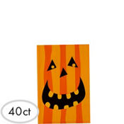 Gruesome Group Pumpkin Party Bags 40ct