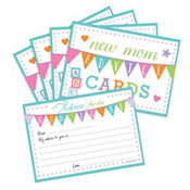 New Mommy Advice Cards Baby Shower Game 24ct