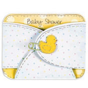Baby Diaper Baby Shower Invitations 8ct