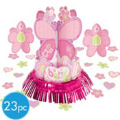 Carter Girl Baby Shower Centerpiece Kit 23pc