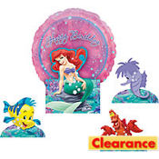 Little Mermaid Centerpiece Kit 5pc