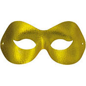 Gold Fashion Masquerade Mask