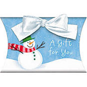 Snowman Cheer Gift Card Holder