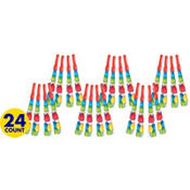 Balloon Fun Happy Birthday Party Horns 24ct