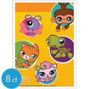 Littlest Pet Shop Favor Bags 8ct