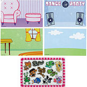 Littlest Pet Shop Magnet Scenes 4ct