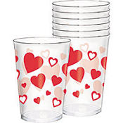 Valentine's Day Tumblers 30ct