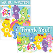 Care Bears Invitations & Thank You Notes 16ct