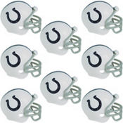 Indianapolis Colts Helmets 8ct