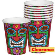 Tiki Time Cups 8ct