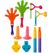 Noisemakers Party Favor Super Mega Mix 100ct