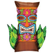 Foil Tiki Totem Balloon 30in