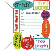 Surprise Invitations 20ct