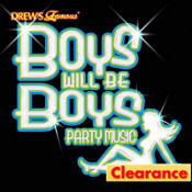 Boys Will Be Boys Party Music CD