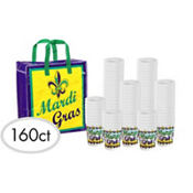 Mardi Gras Throw Cups 16oz 160ct<span class=messagesale><br><b>25¢ per piece!</b></br></span>
