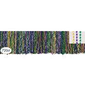 Classic Mardi Gras Bead Necklaces 33in 720ct<span class=messagesale><br><b>8¢ per piece!</b></br></span>