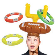 Inflatable Goal Post Ring Toss Game