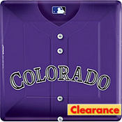 Colorado Rockies Dinner Plates 18ct
