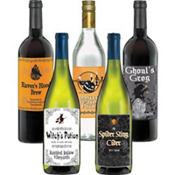 Halloween Bottle Labels 5ct