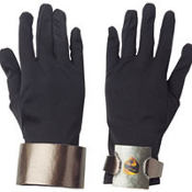 Adult G.I. Joe Snake-Eyes Gloves Deluxe