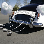 Deluxe Wedding Car Decorating Kit 15pc