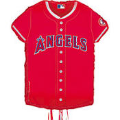 Los Angeles Angels of Anaheim Pull String Pinata 23in x 18in