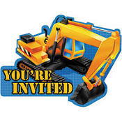 Under Construction Invitations 8ct
