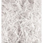 White Crinkle Paper Shreds 2oz
