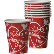 Be Mine Valentines Day Cups 8ct