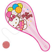 Hello Kitty Paddle Ball