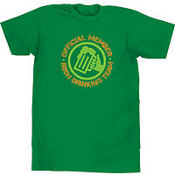 Adult St. Patricks Day Drinking Team T-Shirt